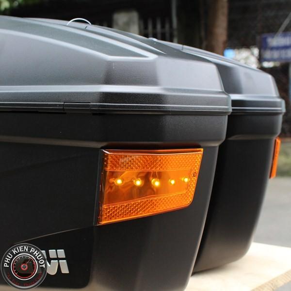 thùng hai bên givi E22N có đèn, thùng cặp hông givi, thùng hông moto xe máy E22N-S