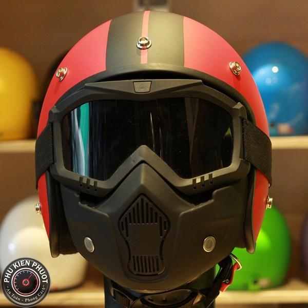 Kính mặt nạ B2, kính mặt nạ beon mask, kính nón bảo hiểm