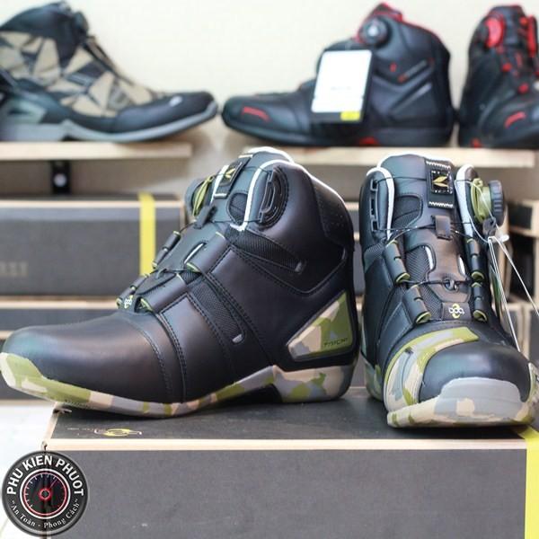 Giày moto taichi rss006, giày taichi chống nước, giày moto xe máy