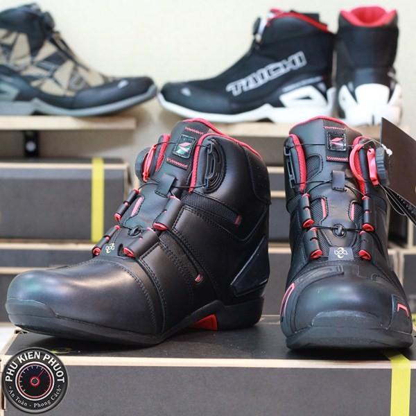 Giày moto taichi rss006, giày taichi chống nước, giày moto cao cấp