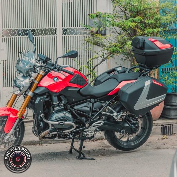 Full thùng moto pkl bmw , bmw r1200rs gắn thùng thùng givi
