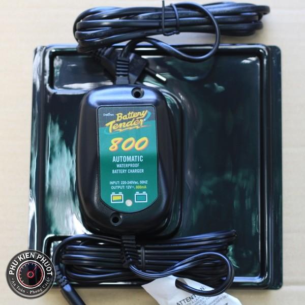 Bộ sạc thông minh battery tender , bộ sạc bình xe moto pkl