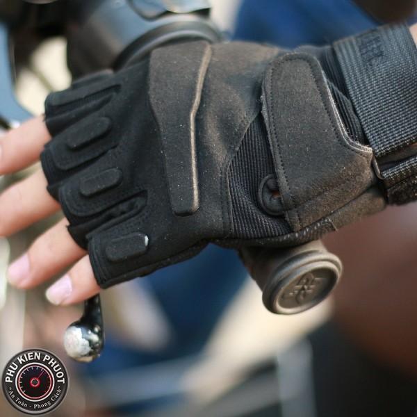 Găng tay cụt ngón blackhawk, găng tay xe máy | Phụ Kiện Phượt