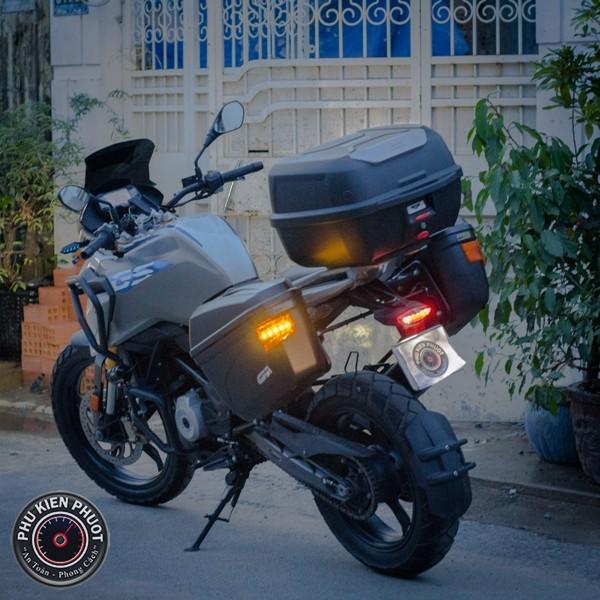 thùng xe bmw gs300 , thùng givi bmw gs300 , thùng moto bmw