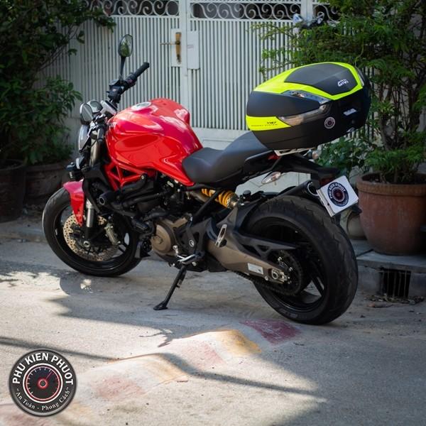 Thùng moto monster ducati 821, thùng moto pkl ducati 821