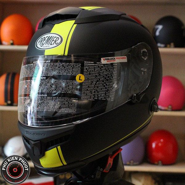 mũ bảo hiểm premier2 kính, nón bảo hiểm premier