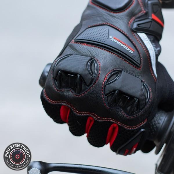 găng tay gk234 cao cấp , găng tay moto gk234 , găng tay full komine chính hang