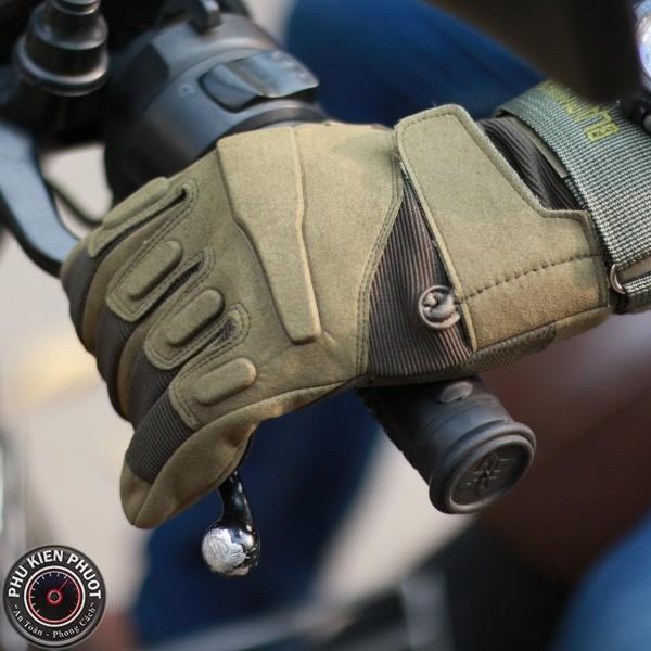 Găng tay full ngón blackhawk đi phượt, găng tay xe máy | Phụ Kiện Phượt