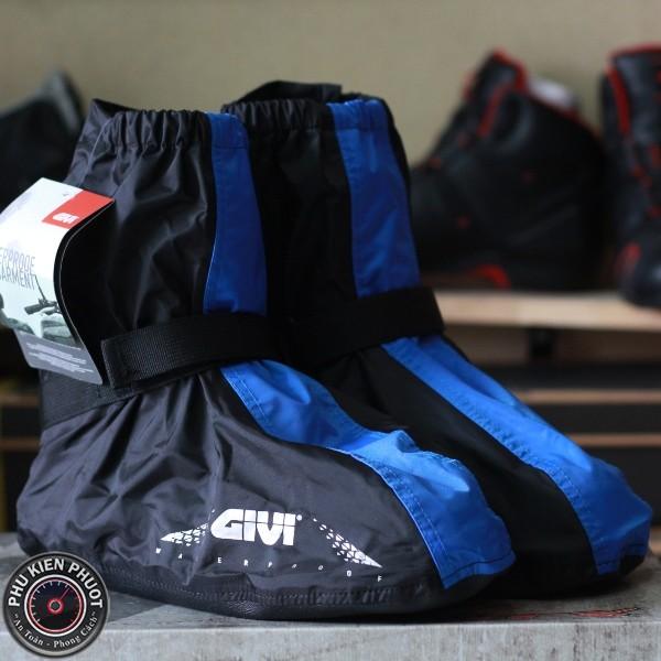 Giày đi mưa moto xe máy , bọc giày đi mưa givi, giày đi mưa chính hãng