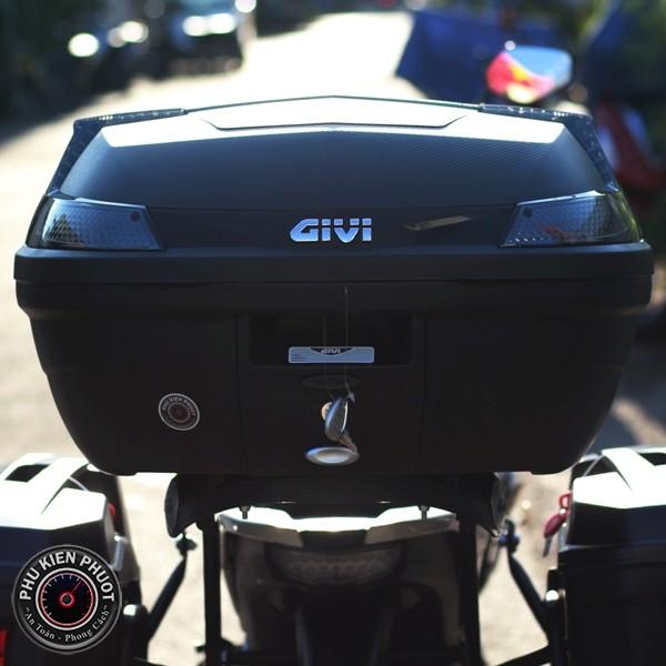 thùng givi b47nt , thùng givi 47 lít , thùng xe moto pkl