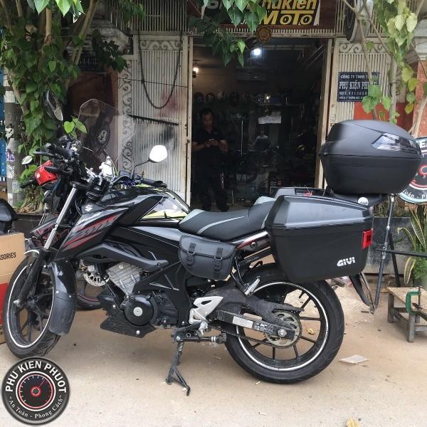 thùng xe givi bandit ,thùng moto xe máy gsx bandit 150