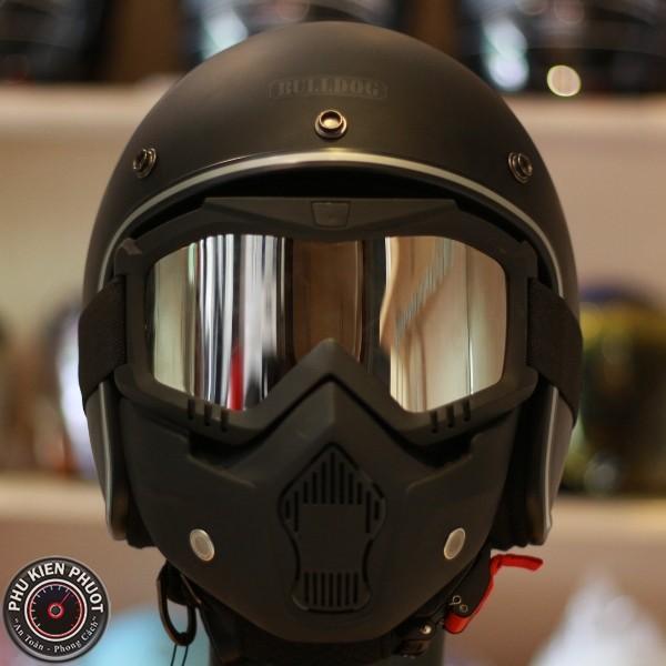 Kính mặt nạ B2 màu gương, kính mặt nạ beon mask, kính nón bảo hiểm
