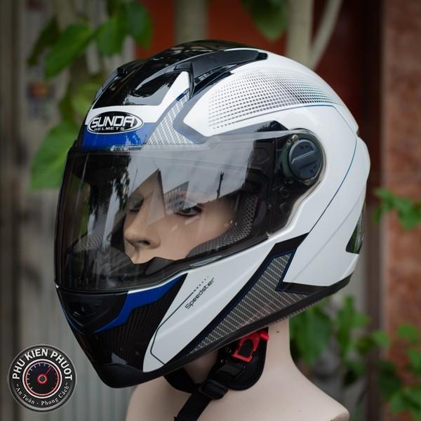 nón sunda 811 fullface phối màu đẹp , Mũ nguyên đầu 811 chính hãng giá rẻ