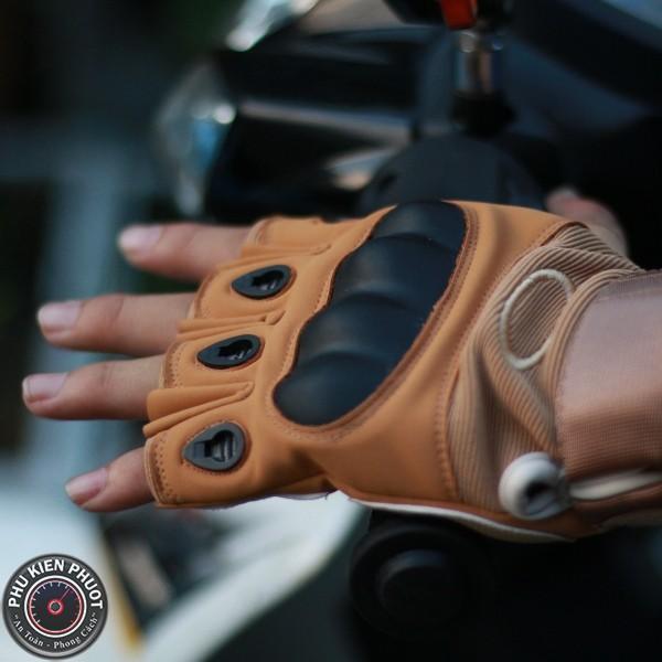 Găng tay cụt ngón Oakley, găng tay xe máy | Phụ Kiện Phượt