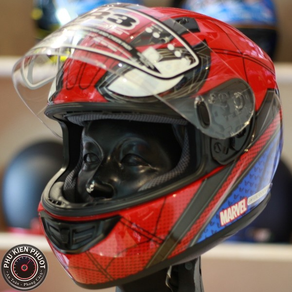 Nón hjc spider man, nón hjc cs-r3 marvel helmet, nón hjc chính hãng