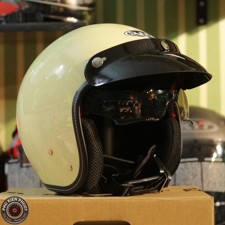 Nón bảo hiểm sunda 388 siêu rẻ , mũ bảo hiểm sunda 388 vàng bóng, sunda 388