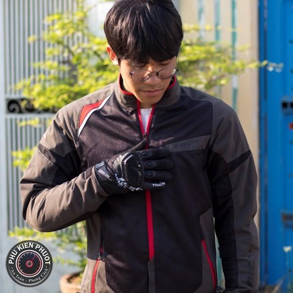 áo giáp taichi rsj322 black grey, áo bảo hộ taichi rsj322 black grey , áo giáp taichi chính hãng