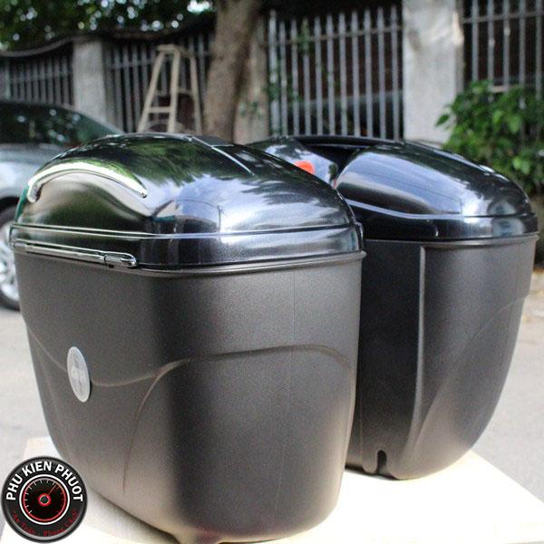 thùng hai bên givi chính hãng, thùng cặp hông givi, thùng hông moto xe máy