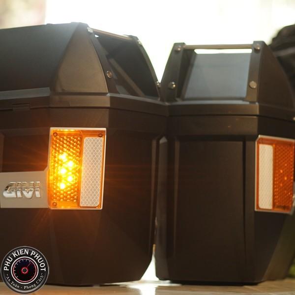 thùng 2 bên givi e23ns , thùng cặp hông givi e23ns , thùng givi e23ns chính hãng