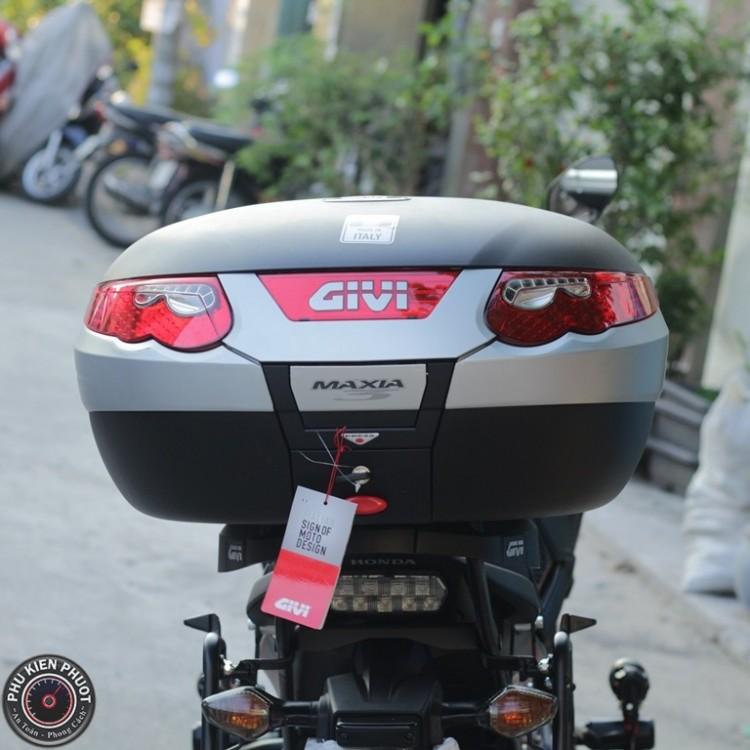 Thùng givi e55n maxima , thùng givi cao cấp , thùng givi moto pkl