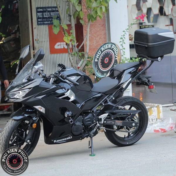 thùng givi ninja 400 , thùng moto ninja 400 , baga xe ninja 400