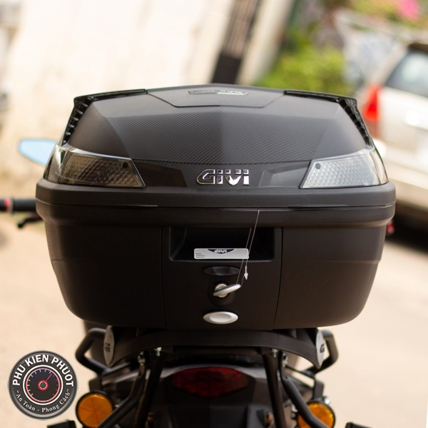 thùng givi b37nt, thùng givi italia , thùng xe moto pkl