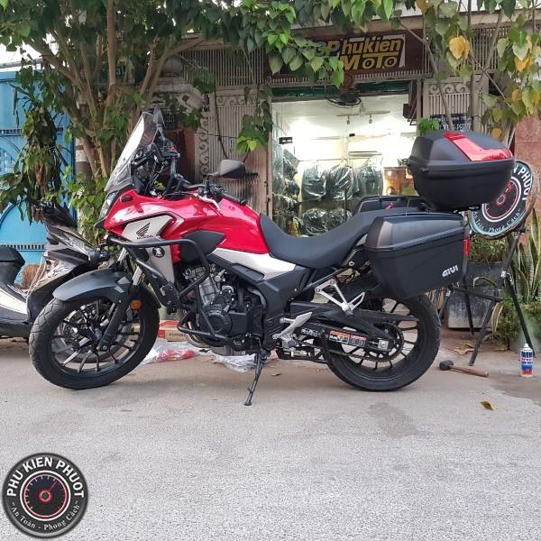 thùng moto cb500x , thùng xe moto cb500x , thùng givi cb500x