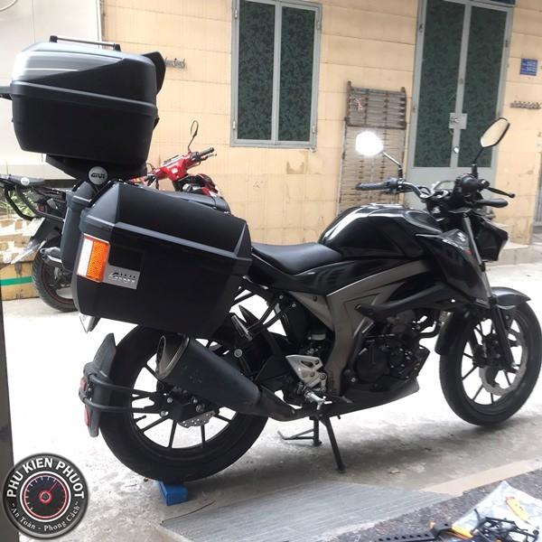 thùng gsx  , thùng xe gsx 150 , thùng sau givi gsx 150