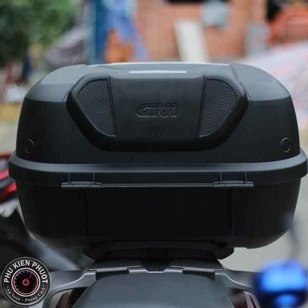 Tựa lưng be43 thùng givi e43nml , tựa lưng cho người ngồi moto xe máy