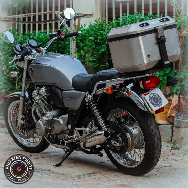 full thùng moto cb1100 , thùng givi gắn xe honda cb1100