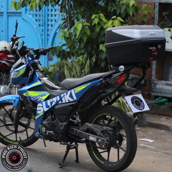 thùng givi raider fi ,baga givi raider fi , thùng xe givi raider , raider fi gắn thùng moto xe máy