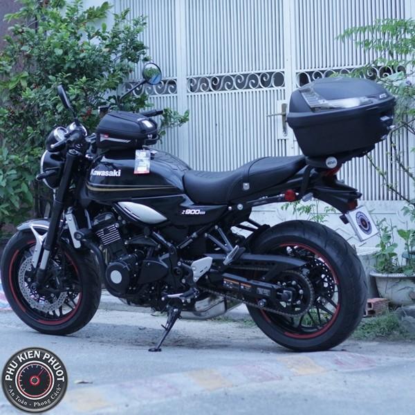 thùng moto z900rs , thùng givi z900rs , z900rs gắn full thùng moto