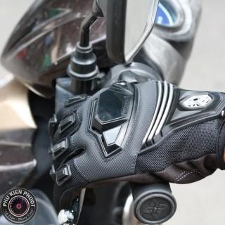 Găng tay moto scoyco mc24, găng tay dài ngón scoyco