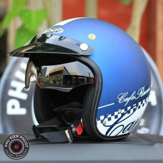 mũ bảo hiểm sunda 388 xanh trắng , nón bảo hiểm sunda 388 , sunda 388 hàng chính hãng