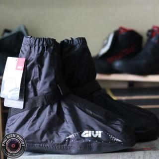 Giày đi mưa givi, bọc giày đi mưa givi, giày đi mưa chính hãng