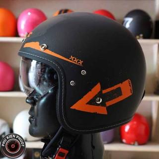 Nón bảo hiểm hjc 1 kính cực đẹp , mũ bảo hiểm fg 70s