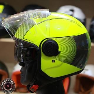 mũ 3/4 scorpipon, mũ scorpion 3/4 2 kính, mũ bảo hiểm thương hiệu Pháp
