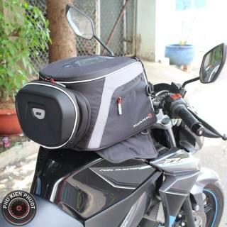 Túi bình xăng moto, hit bình xăng givi cho moto