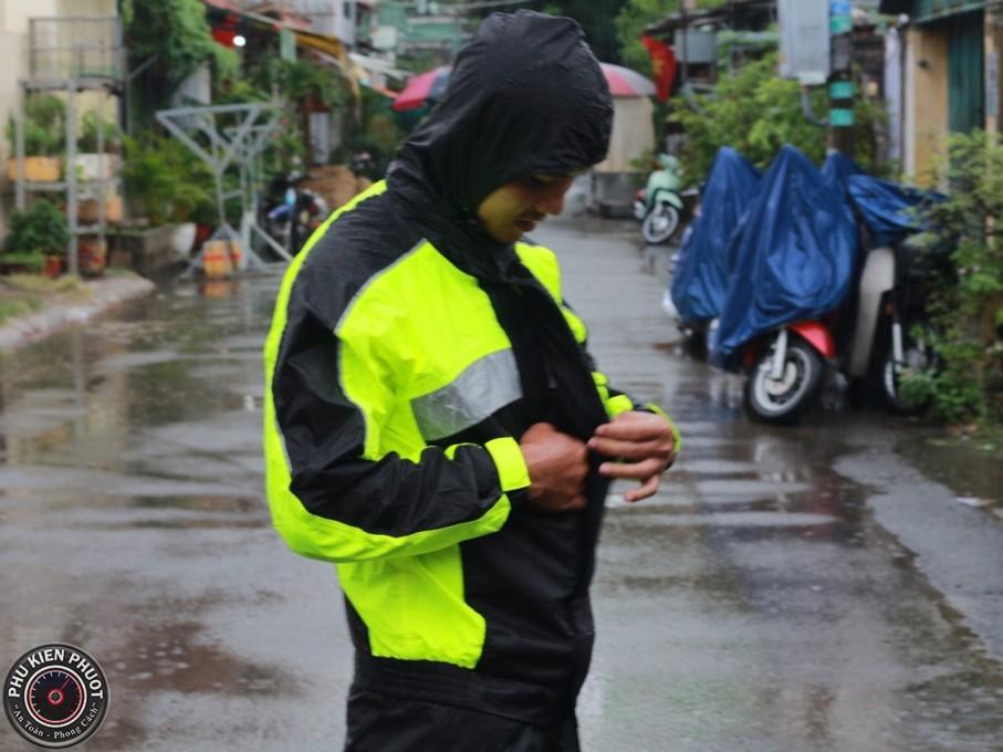 áo mưa bộ givi cao cấp