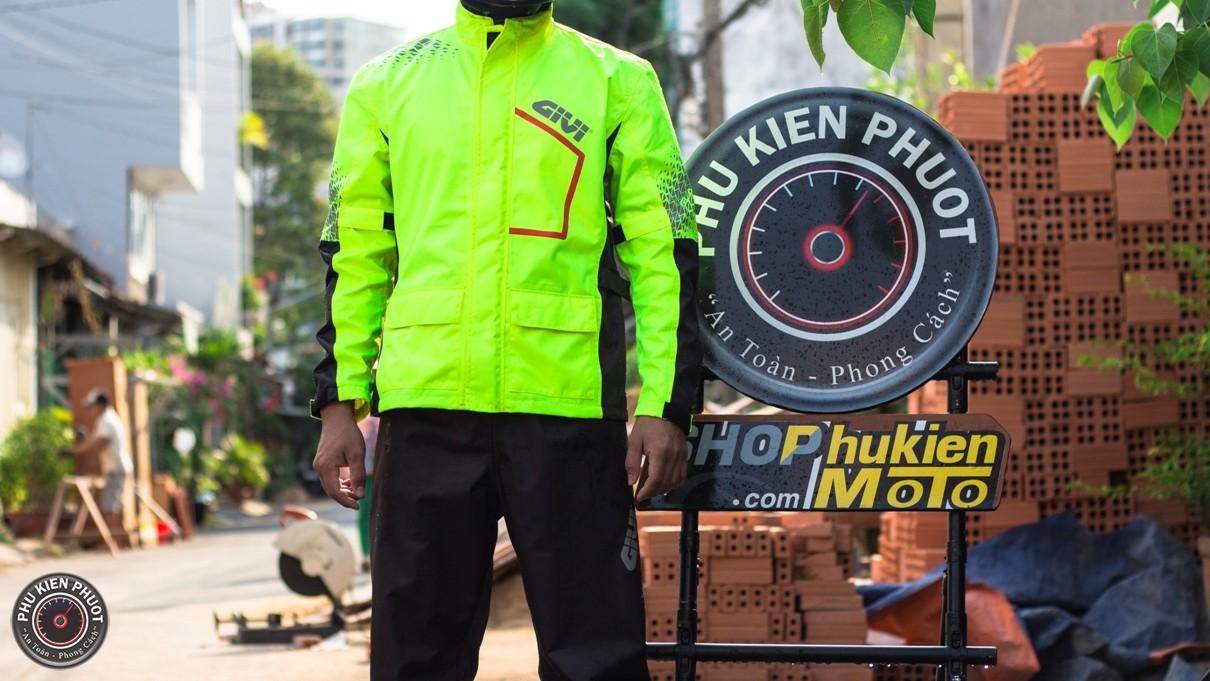áo mưa bộ prs04 thời trang