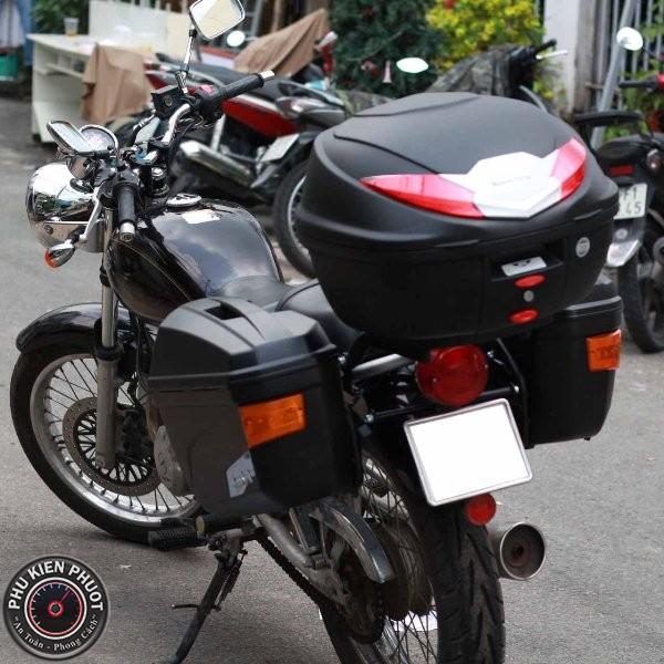 thùng givi b360n gắn xe suzuki st250