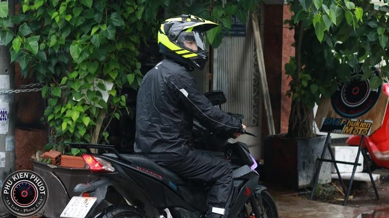 áo mưa siêu nhẹ mặc như không mặc